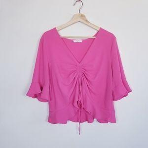 Elodie Nordstrom Sz Xlg Neon pink Top